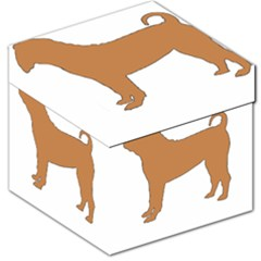 Chinese Shar Pei Silo Color Storage Stool 12