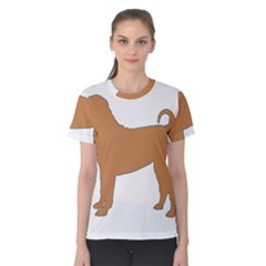 Chinese Shar Pei Silo Color Women s Cotton Tee