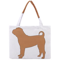 Chinese Shar Pei Silo Color Mini Tote Bag