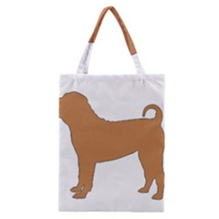 Chinese Shar Pei Silo Color Classic Tote Bag