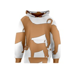 Chinese Shar Pei Silo Color Kids  Pullover Hoodie