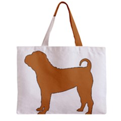 Chinese Shar Pei Silo Color Zipper Mini Tote Bag