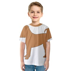 Chinese Shar Pei Silo Color Kids  Sport Mesh Tee