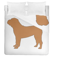 Chinese Shar Pei Silo Color Duvet Cover Double Side (Queen Size)
