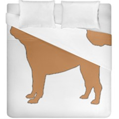 Chinese Shar Pei Silo Color Duvet Cover Double Side (King Size)