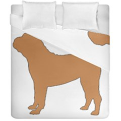 Chinese Shar Pei Silo Color Duvet Cover Double Side (California King Size)
