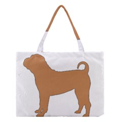 Chinese Shar Pei Silo Color Medium Tote Bag