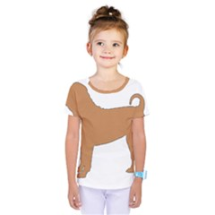 Chinese Shar Pei Silo Color Kids  One Piece Tee