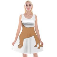 Chinese Shar Pei Silo Color Reversible Velvet Sleeveless Dress