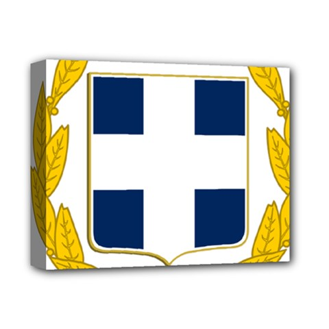 Greece National Emblem  Deluxe Canvas 14  x 11