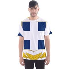 Greece National Emblem  Men s Sport Mesh Tee