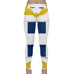 Greece National Emblem  Classic Yoga Leggings