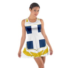 Greece National Emblem  Cotton Racerback Dress