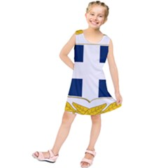 Greece National Emblem  Kids  Tunic Dress
