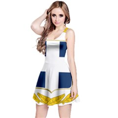 Greece National Emblem  Reversible Sleeveless Dress