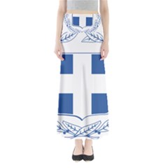 Greece National Emblem  Maxi Skirts