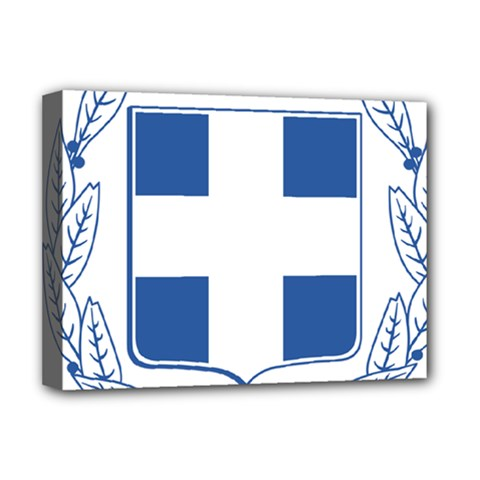 Greece National Emblem  Deluxe Canvas 16  x 12