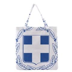 Greece National Emblem  Grocery Tote Bag