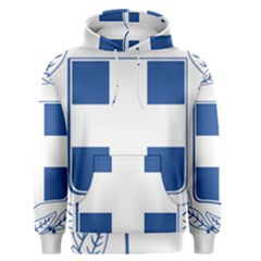 Greece National Emblem  Men s Pullover Hoodie