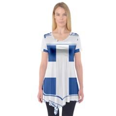 Greece National Emblem  Short Sleeve Tunic