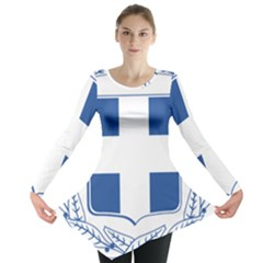Greece National Emblem  Long Sleeve Tunic