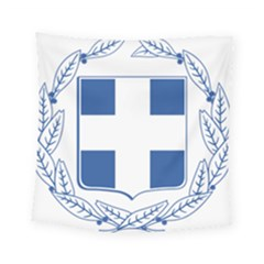 Greece National Emblem  Square Tapestry (Small)