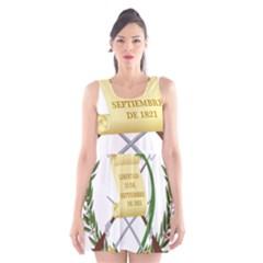 National Emblem of Guatemala Scoop Neck Skater Dress