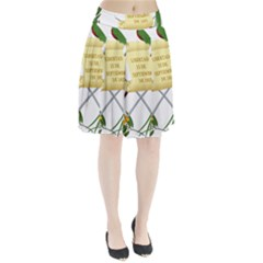 National Emblem of Guatemala Pleated Skirt