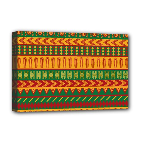 Mexican Pattern Deluxe Canvas 18  X 12