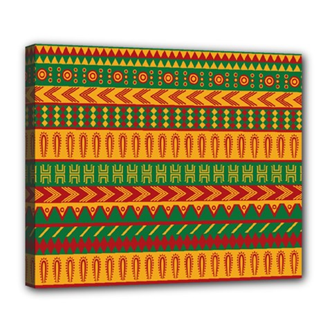 Mexican Pattern Deluxe Canvas 24  X 20