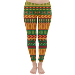 Mexican Pattern Classic Winter Leggings