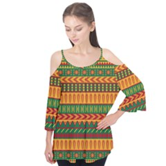 Mexican Pattern Flutter Tees