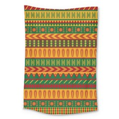 Mexican Pattern Large Tapestry