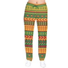 Mexican Pattern Drawstring Pants