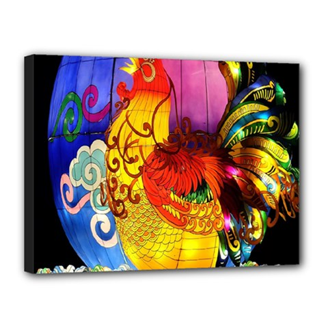 Chinese Zodiac Signs Canvas 16  x 12