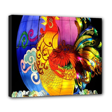 Chinese Zodiac Signs Deluxe Canvas 24  x 20