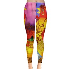 Chinese Zodiac Signs Leggings