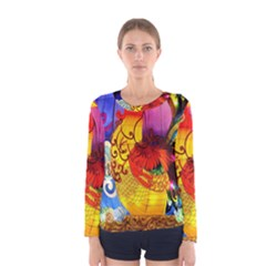 Chinese Zodiac Signs Women s Long Sleeve Tee