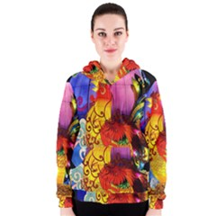 Chinese Zodiac Signs Women s Zipper Hoodie