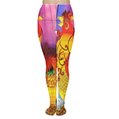 Chinese Zodiac Signs Women s Tights