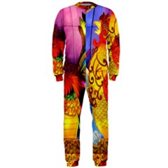 Chinese Zodiac Signs OnePiece Jumpsuit (Men)