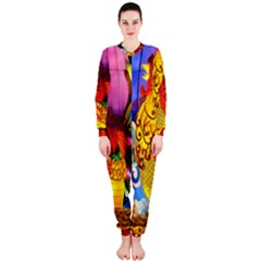Chinese Zodiac Signs OnePiece Jumpsuit (Ladies)
