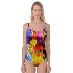 Chinese Zodiac Signs Camisole Leotard