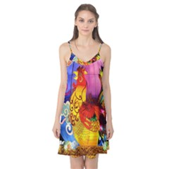 Chinese Zodiac Signs Camis Nightgown