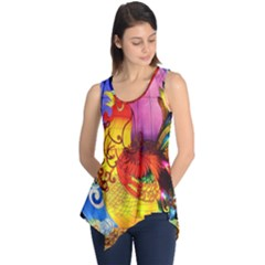 Chinese Zodiac Signs Sleeveless Tunic