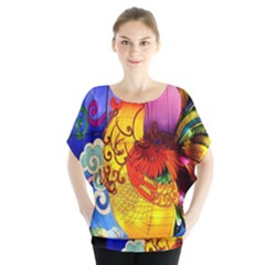 Chinese Zodiac Signs Blouse