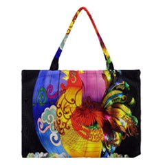Chinese Zodiac Signs Medium Tote Bag