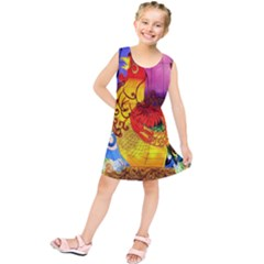 Chinese Zodiac Signs Kids  Tunic Dress