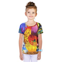 Chinese Zodiac Signs Kids  One Piece Tee