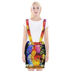 Chinese Zodiac Signs Suspender Skirt
